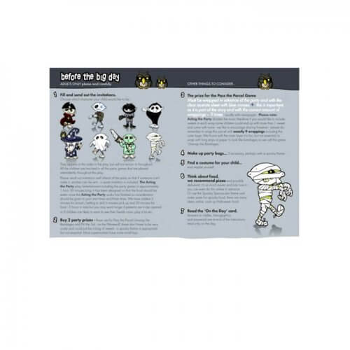 Pirate party instruction booklet