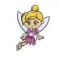Fairy cartoon graphic