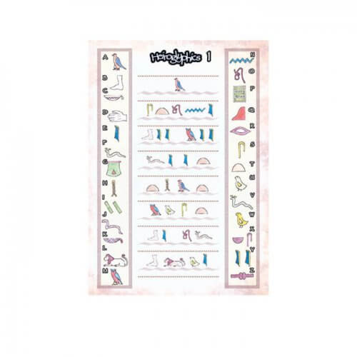 Hieroglyphics Party game