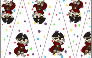 Image of bunting to print