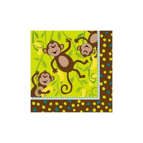 cheeky monkey napkins