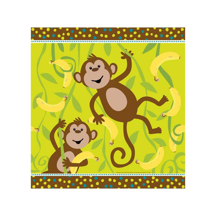 Cheeky Monkey Table Cover