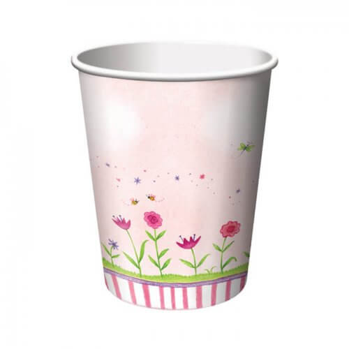 garden fairy party cups