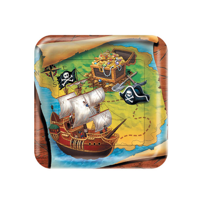 Pirate party plate