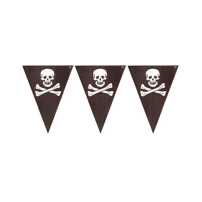 Skull and crossbones banner