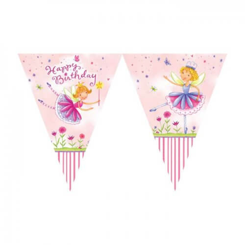 Fairy party bunting