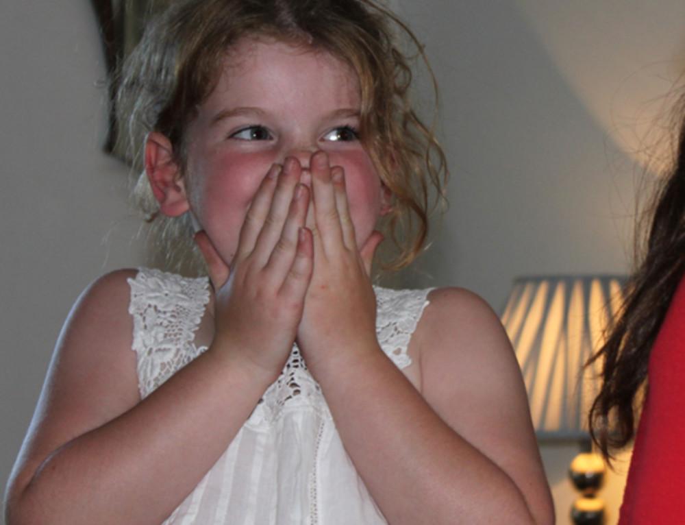Giggly girl