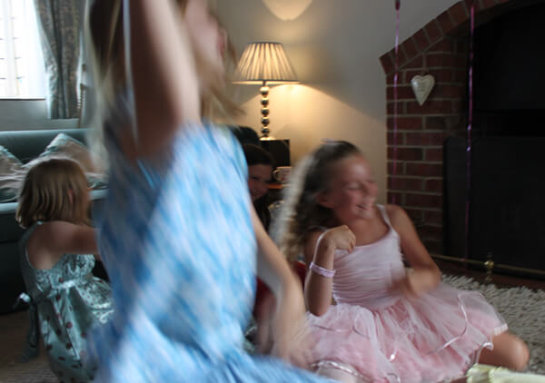 movement and fun at party