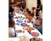 Large kids party