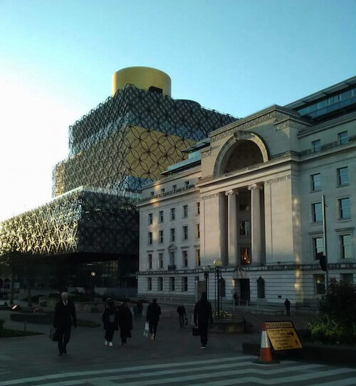 Photo of a sunny Birmingham