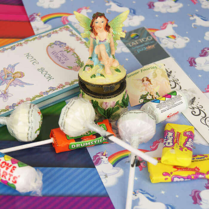 fairy pass the parcel contents with paper