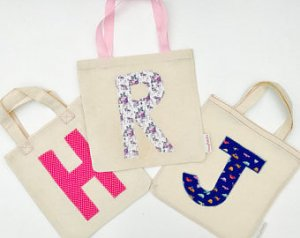 Unique personalised party bags
