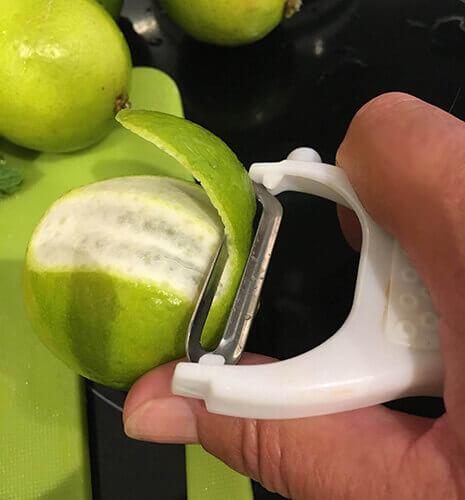 Peel limes