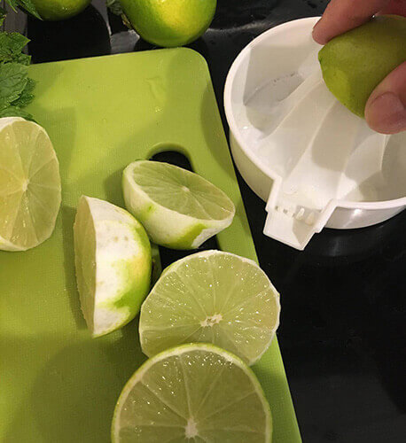 Add the lime juice